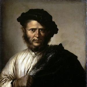 Роза Сальватор - Мужской портрет