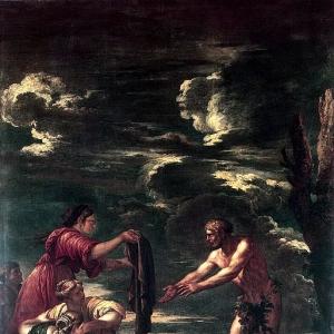 Роза Сальватор - Одиссей и Навзикая