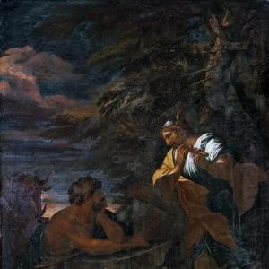 Роза Сальватор - Меркурий и Аргус