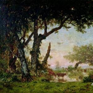 Руссо Теодор - Опушка леса в Фонтенбло