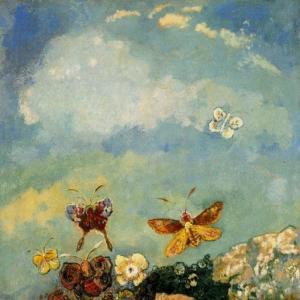 Одилон Редон - Бабочки