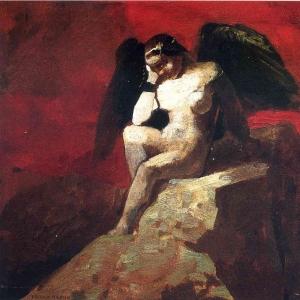 Одилон Редон - Ангел в цепях