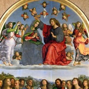 Рафаэль Санти - Алтарь Одди - Коронование Девы Марии