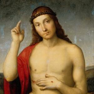 Рафаэль Санти - Благословляющий Христос