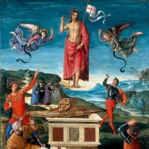 Рафаэль Санти - Воскресение Христа