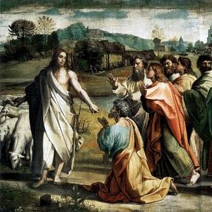 Рафаэль Санти - Вручение ключей от рая