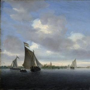 Саломон ван Рейсдаль - Море