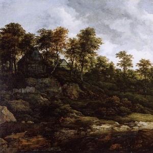 Саломон ван Рейсдаль - Холмистый пейзаж
