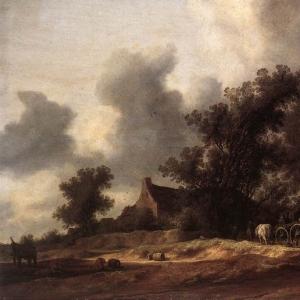 Саломон ван Рейсдаль - После дождя