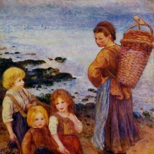 Ренуар Пьер Огюст - Ловец мидий, 1879