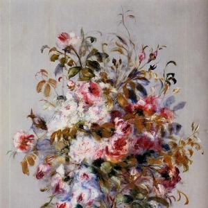 Ренуар Пьер Огюст - Букет роз 1879