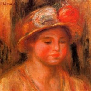Ренуар Пьер Огюст - Портрет женщины 1