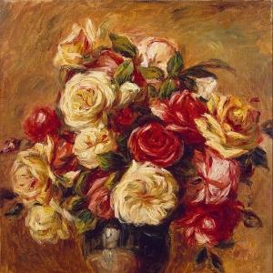 Ренуар Пьер Огюст - Букет роз