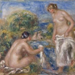 Ренуар Пьер Огюст - Купание женщин