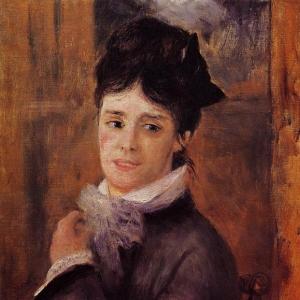 Ренуар Пьер Огюст - Мадам Клод Моне - 1872
