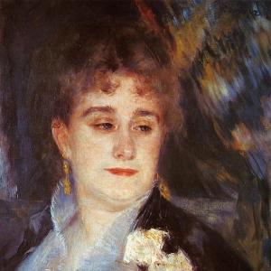 Ренуар Пьер Огюст - Первый портрет мадам Жорж Шарпантье