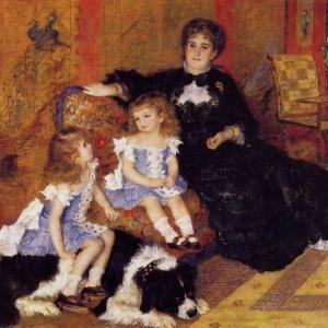 Ренуар Пьер Огюст - Мадам Жорж Шарпантье и ее дети, 1878
