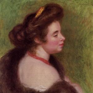 Ренуар Пьер Огюст - Мадам Морис Дени, урожденная Жанна Будо, 1904