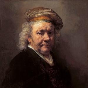Рембрандт Харменс ван Рейн - Автопортрет