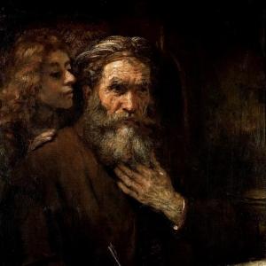 Рембрандт Харменс ван Рейн - Евангелист Матвей
