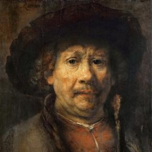 Рембрандт Харменс ван Рейн - Малый автопортрет