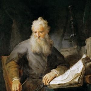 Рембрандт Харменс ван Рейн - Апостол Павел