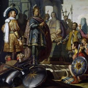 Рембрандт Харменс ван Рейн - Историческая сцена