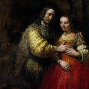 Рембрандт Харменс ван Рейн - Еврейская невеста