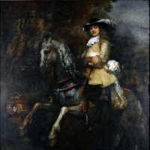 Рембрандт Харменс ван Рейн - Конный портрет Фредерика Ригеля