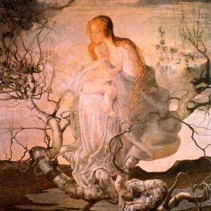 Джованни Сегантини - Ангел жизни