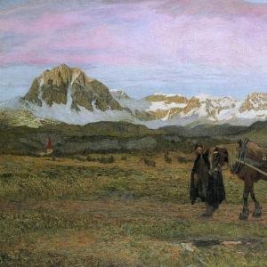 Джованни Сегантини - Возвращение домой