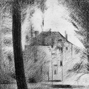 Жорж Сера - Замок в парке