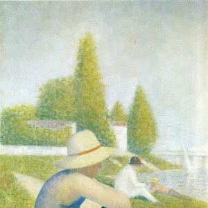 Жорж Сера - Ожидание у берега