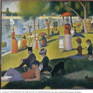 Жорж Сера - В воскресенье днем на острове Лан Гранд-Джет
