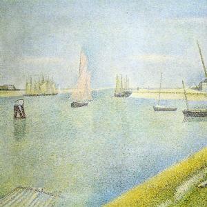 Жорж Сера - Канал на Гравелине,в направлению к морю