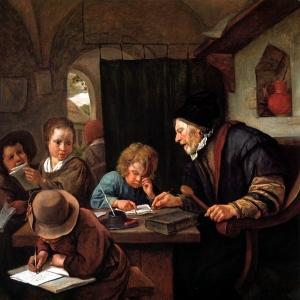 Ян Стен - Строгий учитель