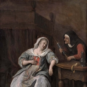 Ян Стен - Больная женщина