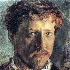 Серов Валентин Александрович - Автопортрет. 1880-е