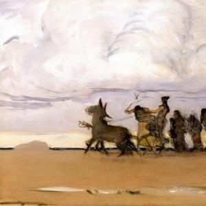 Серов Валентин Александрович - Одиссей и Навзикая 4. 1910
