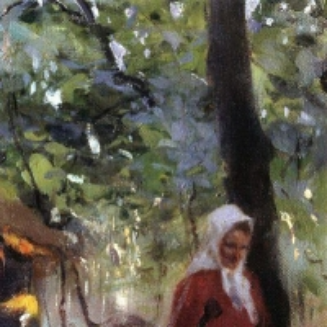 Серов Валентин Александрович - Женщина с крынкой. Конец XIX - начало XX века