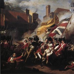 Синглтон Копли Джон - Смерть майора Пирсона 6 января 1781 (Штурм Джерси)