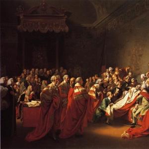 Синглтон Копли Джон - Смерть графа Чатама в Палате лордов, 7 июля 1778 года.