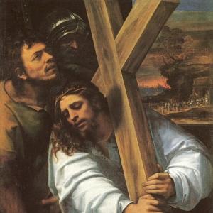 Себастьяно дель Пьомбо - Несение креста