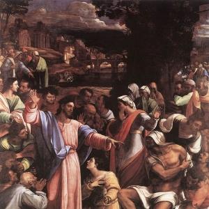 Себастьяно дель Пьомбо - Воскрешение Лазаря