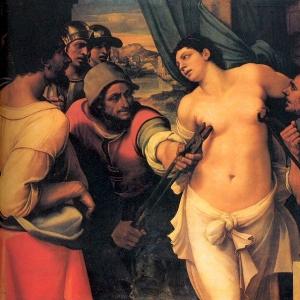Себастьяно дель Пьомбо - Мученичество Святой Агаты