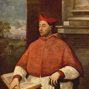Себастьяно дель Пьомбо - Портрет кардинала Антонио Паллавичини