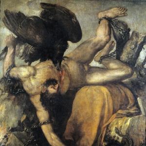 Наказание Тития