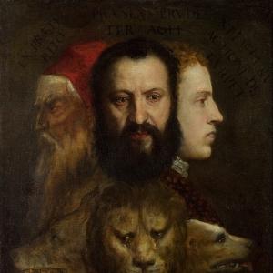 Тициан и мастерская - Аллегория благоразумия 1565