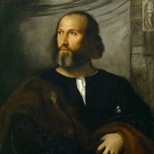 Портрет бородатого мужчины