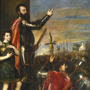 Торжественная речь Альфонсо д'Авалоса, губернатора Милана